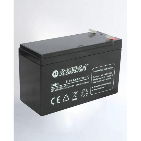 Kenika Battery 1290 - 12V 9.0AH