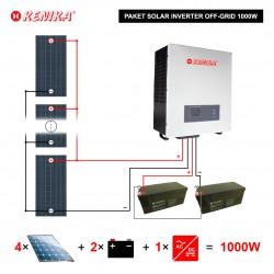 PAKET SOLAR SYSTEM OFF GRID 1KW PA-F1000