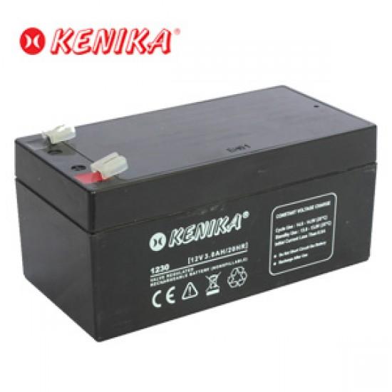 Kenika Battery 1230 - 12V 3.0AH
