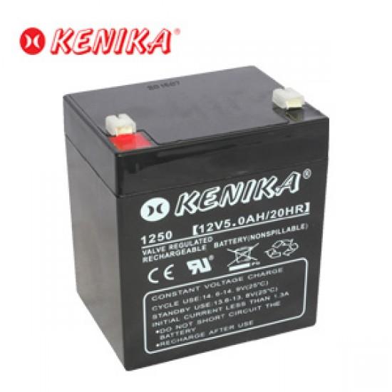 Kenika Battery 1250 - 12V 5.0AH