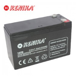 Kenika Battery 1270 - 12V 7.0AH
