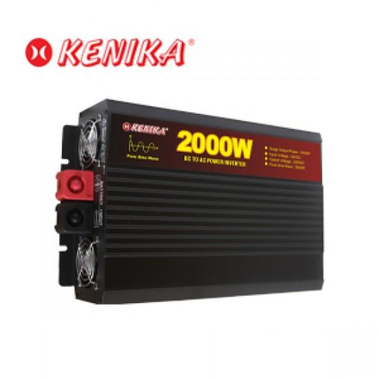 Kenika Power Inverter Pure Sine Wave PSW 2000-24
