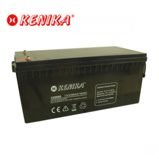 Kenika Battery 122000 - 12V 200AH