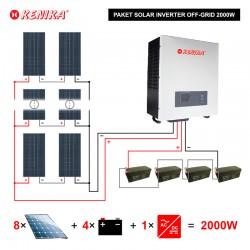PAKET SOLAR SYSTEM OFF GRID 2KW PA-F2000