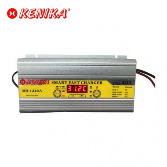 KENIKA MH-1240A Smart Fast Charger 12V 40A