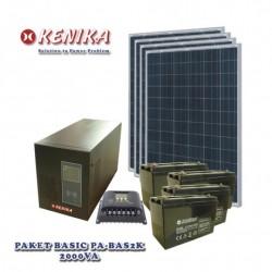 Paket Solar Home Basic 2000 watt PA-BAS2K