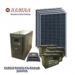 Paket Solar Home Basic 3000 watt PA-BAS3K
