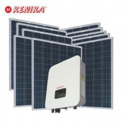 PAKET MURAH DIY PLTS RUMAH 2000W SOLAR INVERTER ONGRID 10 PV 200WP PA-N2000