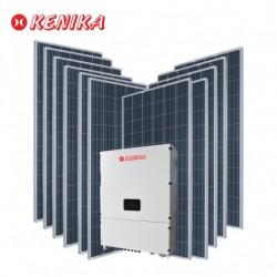 PAKET MURAH DIY PLTS 33KW 3PHASE SOLAR INVERTER ONGRID + 81Panel Surya 320WP PA-N3303