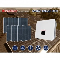 PAKET MURAH DIY PLTS RUMAH 5000W SOLAR INVERTER ONGRID 26 PV 200WP PA-N5000